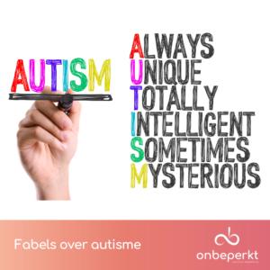 Fabels over autisme (ASS) en tips